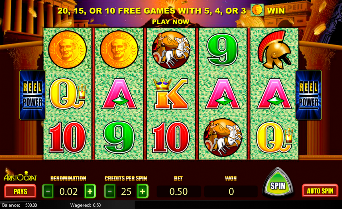 Win real money playing slots online
